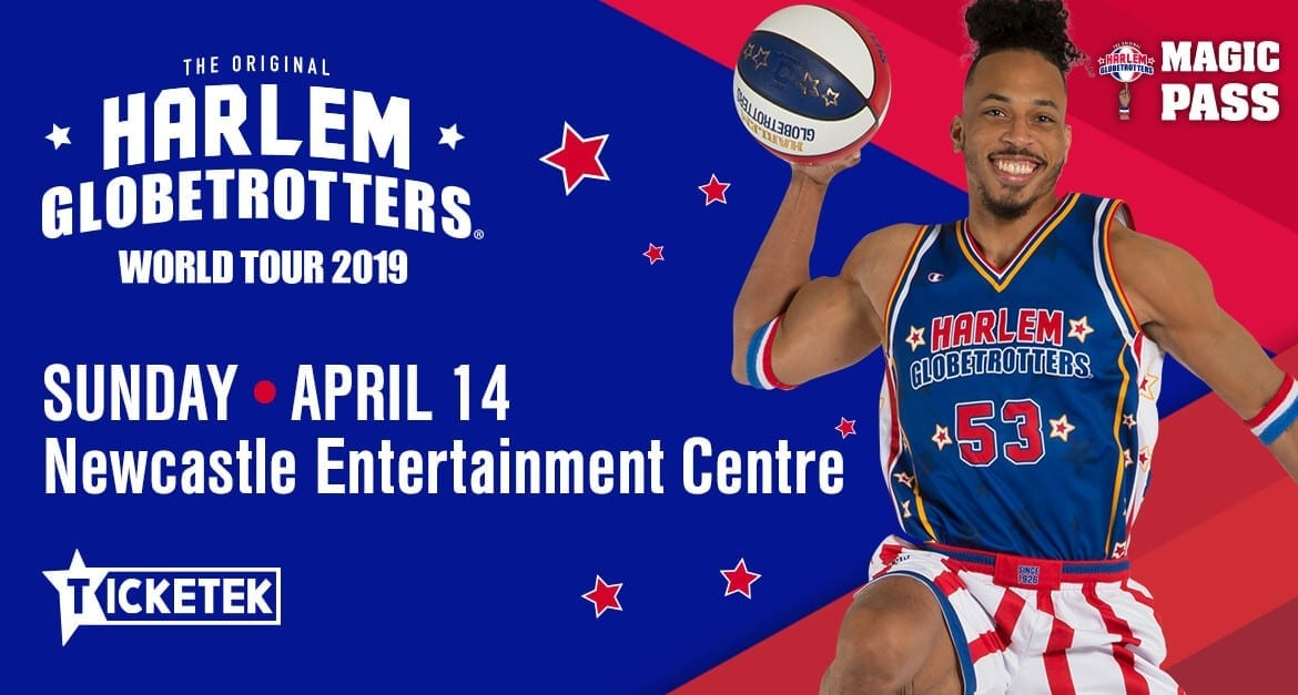 HARLEM GLOBETROTTERS HEADED FOR NEWCASTLE